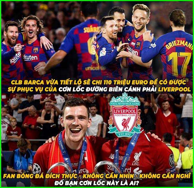 Liệu Liverpool có chịu nhả người cho Barca hay không?