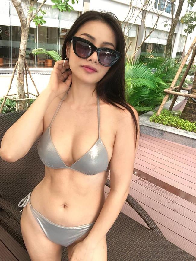 """Yaya Trương Nhi được mệnh danh là """"Nữ hoàng Bikini mới của Vbiz""""."""