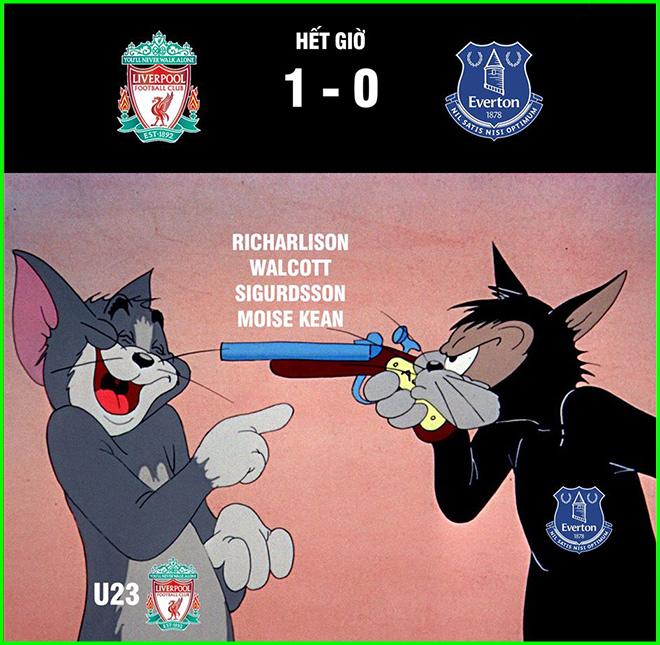 """Anti-fan """"khóc ròng"""" khi Liverpool vẫn bất bại chỉ với đội hình U23 - 1"""