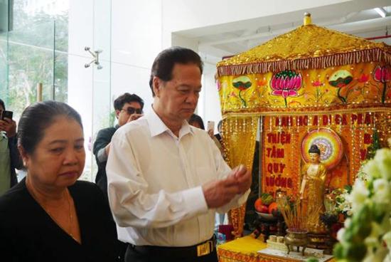 Gia đình tiết lộ mối quan hệ của nghệ sĩ Chánh Tín và nguyên Thủ tướng Nguyễn Tấn Dũng - 1