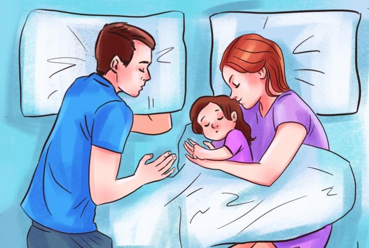 Tại sao cha mẹ không nên để con cái ngủ chung giường với mình - 1
