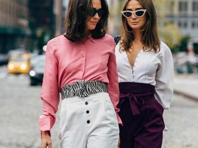 10 ý tưởng cho áo sơ mi nữ bớt nhàm chán