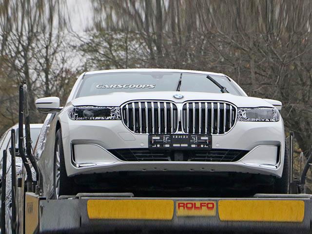 Lộ ảnh BMW 7-Series thế hệ mới trên đường vận chuyển chạy thử nghiệm