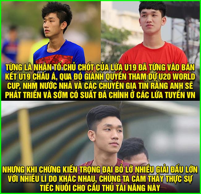 Trọng Đại bị loại đáng tiếc khỏi đội hình U23 Việt Nam dự VCK U23 châu Á.