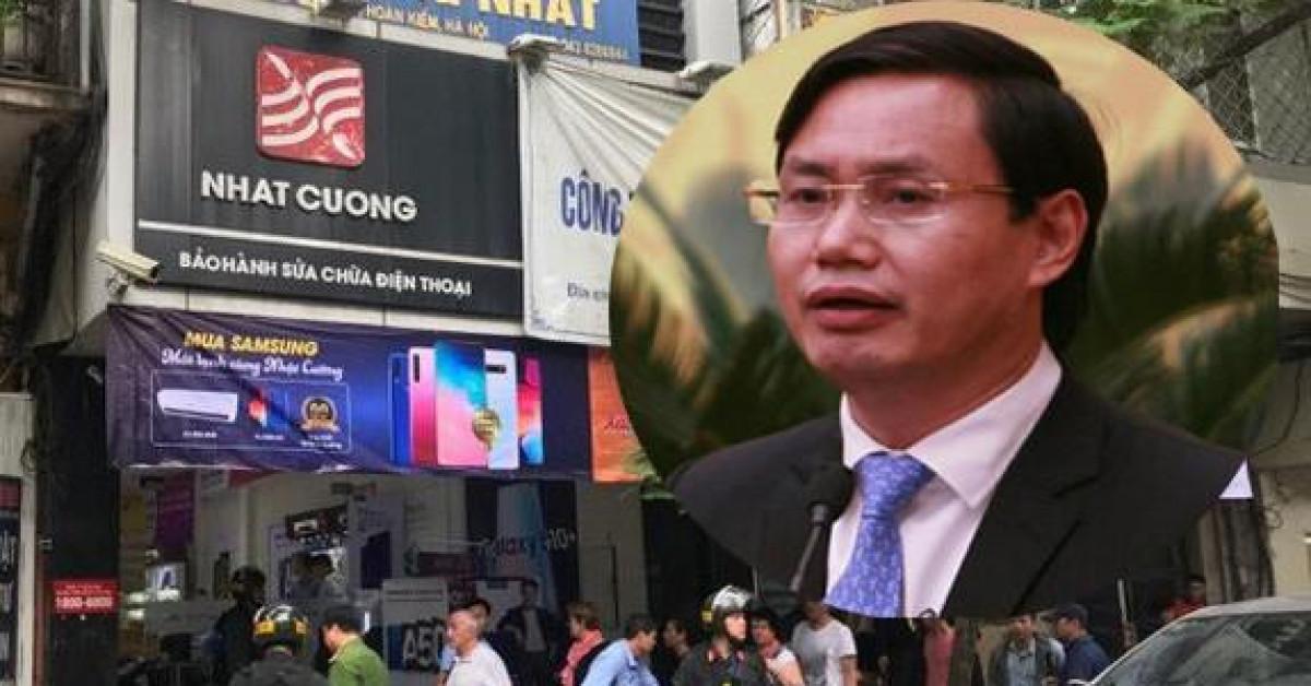 Đình chỉ sinh hoạt Đảng Chánh văn phòng Thành ủy Hà Nội liên quan đến Nhật Cường