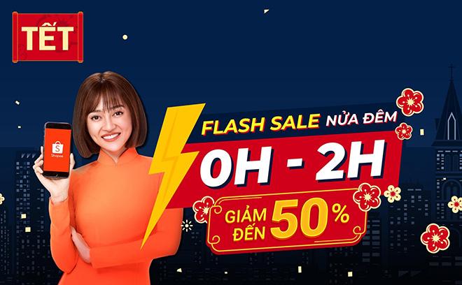 """Flash Sale Nửa Đêm bùng nổ với 3 ưu đãi cực hot cùng """"mưa deal"""" siêu hấp dẫn - 1"""