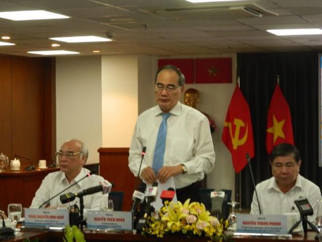 Bí thư TPHCM nói về việc xử lý ông Lê Thanh Hải, Lê Hoàng Quân - 1