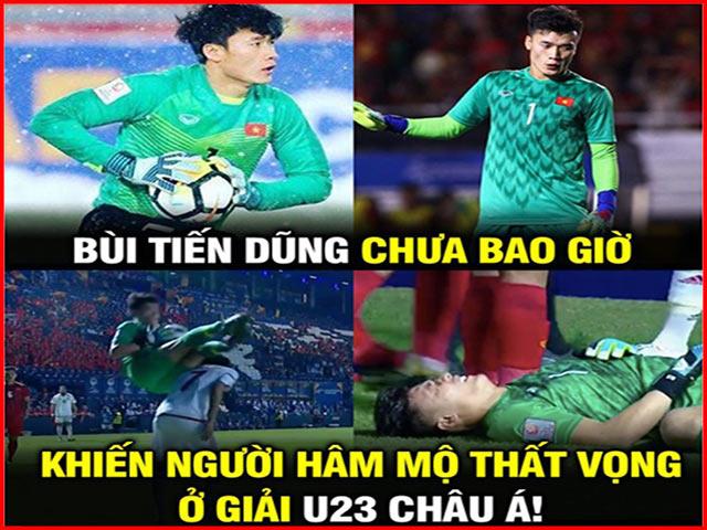 Dân mạng chế ảnh Bùi Tiến Dũng sinh ra dành cho U23 Việt Nam