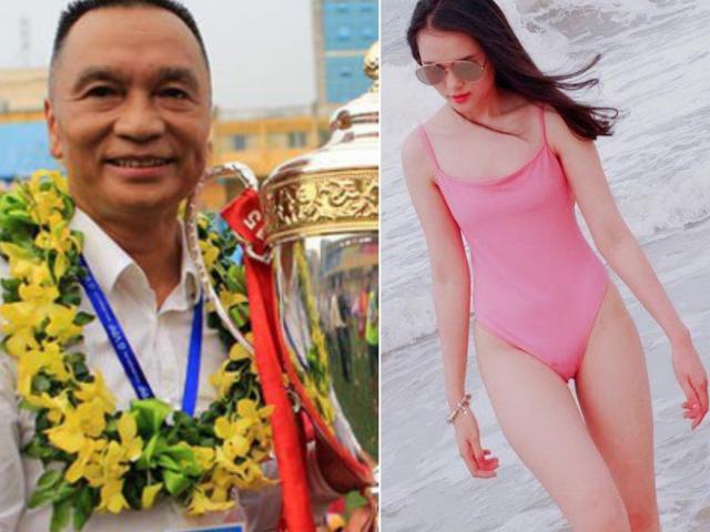 """Ái nữ cựu chủ tịch CLB Sài Gòn: Cô chị là vợ tiền đạo Văn Quyết, cô em """"trói chân"""" Duy Mạnh"""