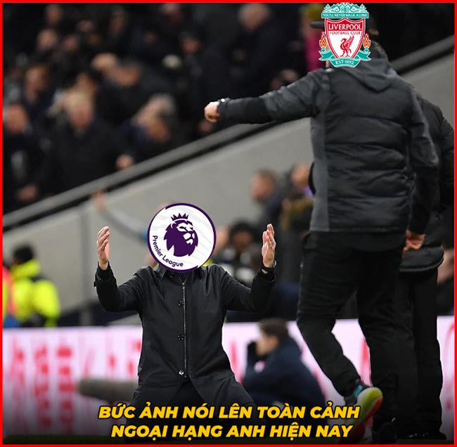 """Mourinho không cản nổi Liverpool, cả ngoại hạng Anh """"cúi đầu""""."""