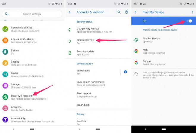Phải làm gì trước và sau khi bị mất điện thoại Android, Samsung? - 1