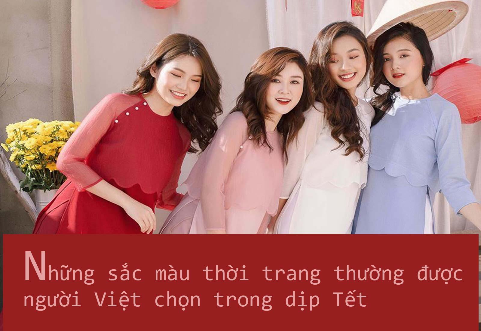 Những màu sắc thời trang thường được người Việt chọn trong dịp Tết - 1