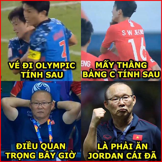Ảnh chế: Thầy Park và U23 Việt Nam quyết hạ U23 Jordan bằng mọi giá - 1