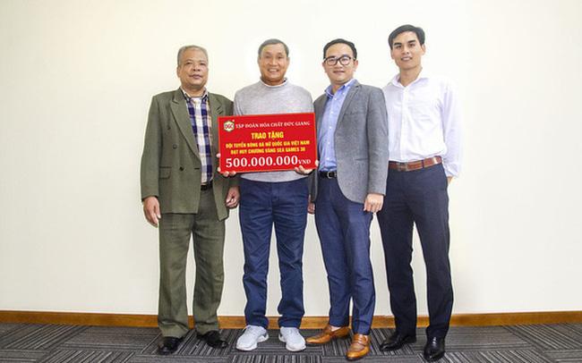 """Công ty Đức Giang bị tố """"xù"""" 500 triệu đồng tiền thưởng cho tuyển nữ Việt Nam - 1"""