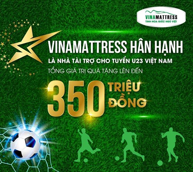 Thương hiệu nệm Việt tiên phong tiếp sức U23 Việt Nam tại đấu trường châu lục - 1
