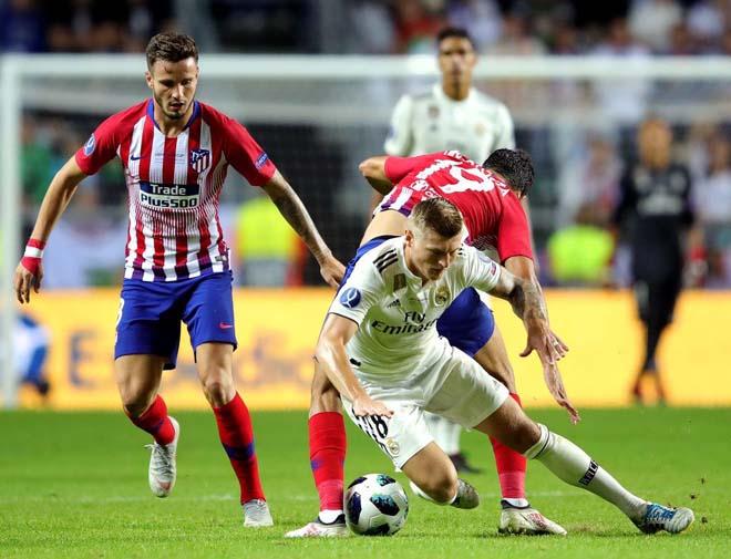 """Video highlight trận Real Madrid - Atletico Madrid: 120 phút đỉnh cao, ẵm cúp nhờ """"đấu súng"""" - 1"""