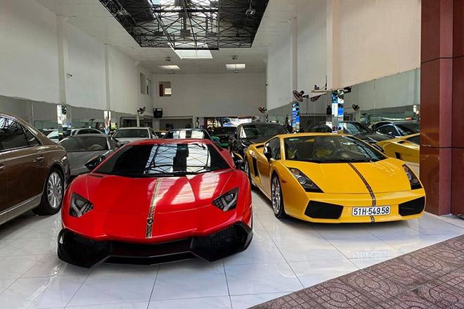 Siêu xe Lamborghini Aventador được chủ nhân thay đổi màu sắc mới - 9