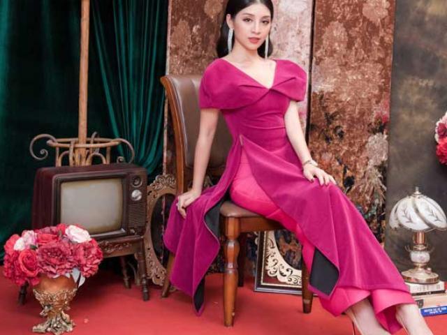 Top 10 Hoa hậu Việt Nam khoe nét duyên dáng trong áo dài cách tân