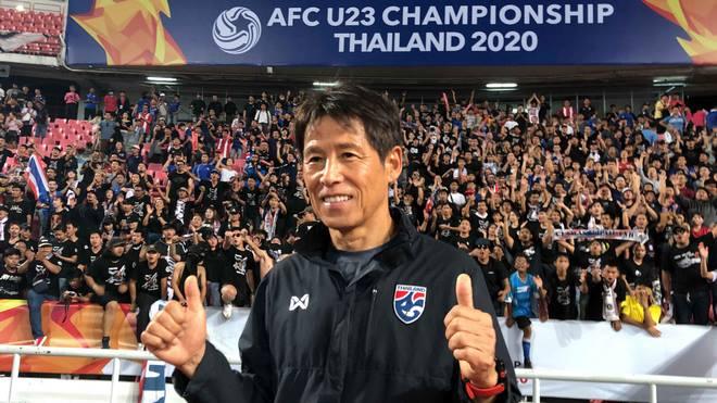 Thái Lan lập kỳ tích U23 châu Á: Siêu HLV Nhật Bản nói gì về mục tiêu Olympic? - 1