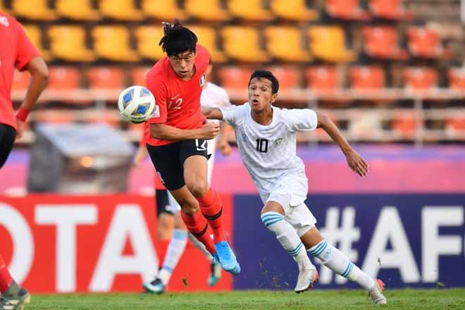 Video highlight trận U23 Uzbekistan - U23 Hàn Quốc: Đôi công gay cấn, hồi hộp 10 phút cuối - 1