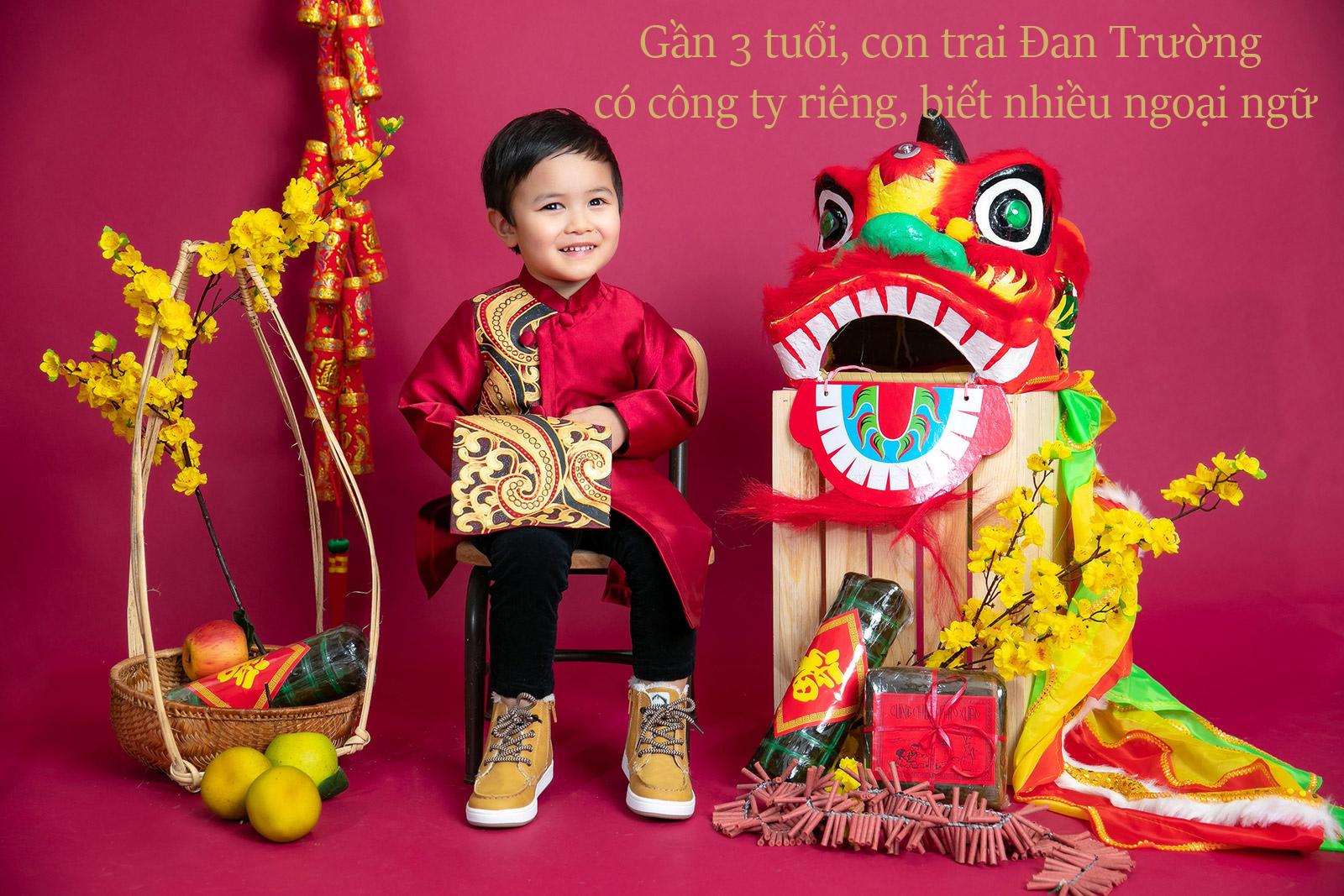 Gần 3 tuổi, con trai Đan Trường đã có công ty riêng, biết nói nhiều ngoại ngữ - 1