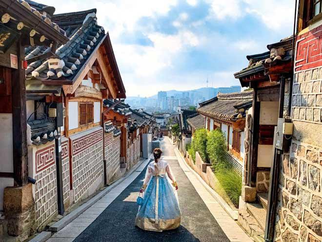 Bukchon Hanok: Ngôi làng cổ nhất ở Hàn Quốc - 1