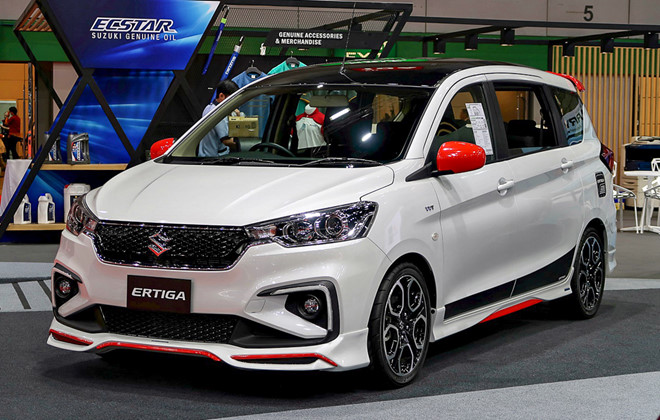 Suzuki Ertiga thêm trang bị ngoại thất sắp có mặt Việt Nam - 1