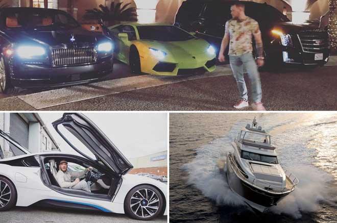 """Choáng với dàn siêu xe, du thuyền 165 tỷ đồng của """"Gã điên"""" McGregor - 1"""