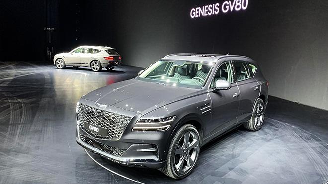 Genesis GV80 2020 chính thức ra mắt tại thị trường quê nhà - 1