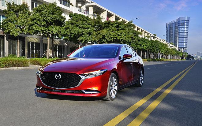 Mazda3 thế hệ mới tại Việt Nam phát hiện lỗi hệ thống phanh tự động khẩn cấp - 1