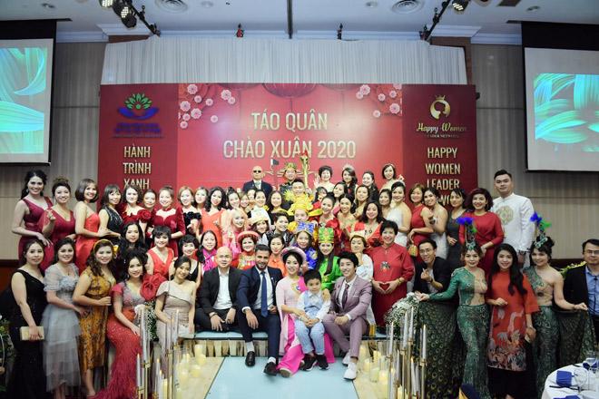 """Ấn tượng chương trình """"Táo quân - Chào xuân 2020"""" của Happy Women Leader Network và Quỹ từ thiện Hành trình xanh - 1"""