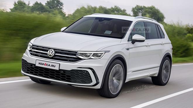Volkswagen Tiguan 2020 đang quay quảng cáo, dự kiến ra mắt vào tháng 3 tới - 1