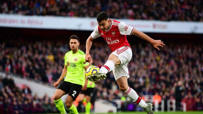 Video highlight trận Arsenal - Sheffield United: Mở khóa phút 45, trả giá cuối trận - 1