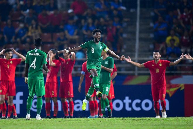 U23 Saudi Arabia - U23 Thái Lan: Sụp đổ vì VAR, giật vé bán kết - 1