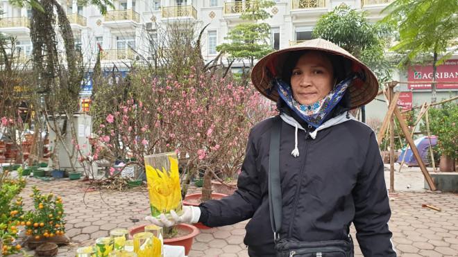 Bỏ cửa hàng tạp hóa ế ẩm, tiểu thương tranh thủ lên Thủ đô bán hoa Tết - 1