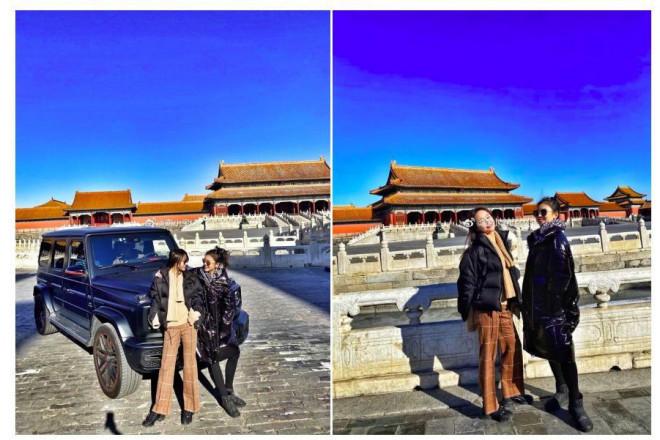 """Hot girl khoe xe ở Tử Cấm Thành, con nhà giàu Trung Quốc lại """"lên thớt"""" - 1"""