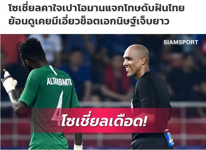 U23 Thái Lan bị loại: Báo chí cay cú trọng tài, HLV Nishino ôm mộng dự World Cup - 1