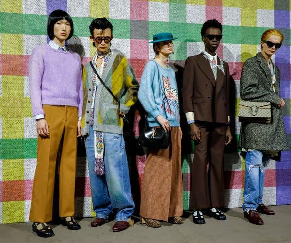 Gucci: Canh bạc liều lĩnh từ việc cho đàn ông mặc váy - 1
