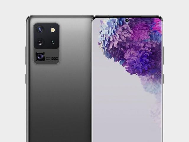 Lộ ảnh kết xuất của Galaxy S20 Ultra 5G, đẹp rụng rời