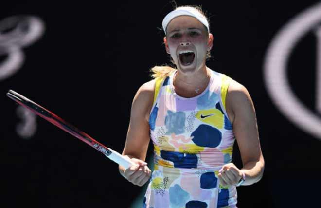 Video tennis Vekic - Sharapova: Trả giá đắt vì bỏ lỡ quá nhiều (vòng 1 Australian Open) - 1