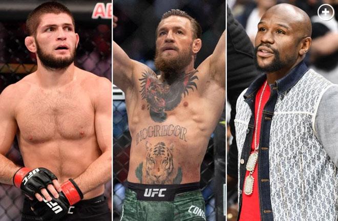 """""""Gã điên UFC"""" McGregor tái xuất tuyệt đỉnh: Đòi """"xử"""" Khabib lẫn Mayweather - 1"""