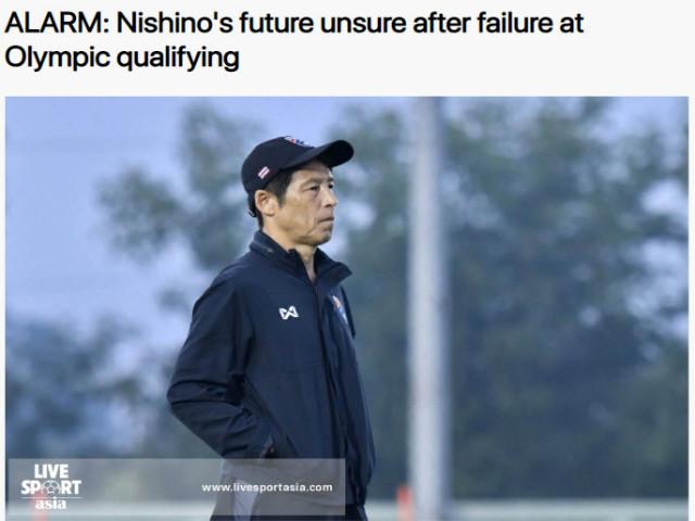 U23 Thái Lan bị loại: Báo châu Á lo siêu HLV Nhật Bản bị sa thải - 1