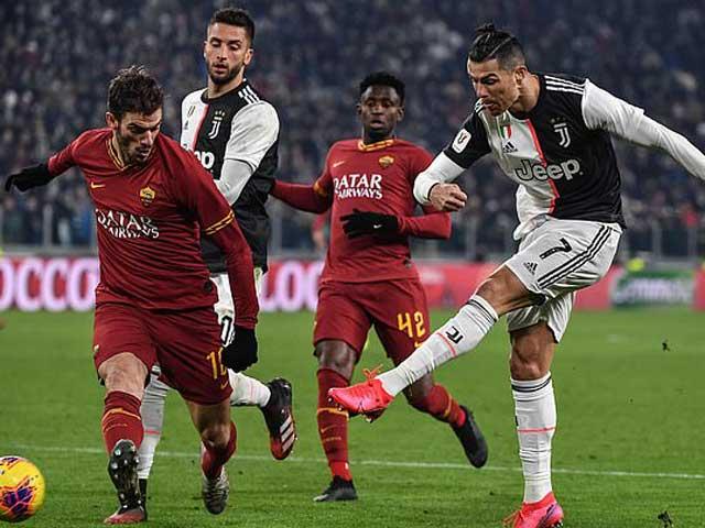 Video highlight trận Juventus – AS Roma: Ronaldo khơi mào, định đoạt hiệp 1 - 1