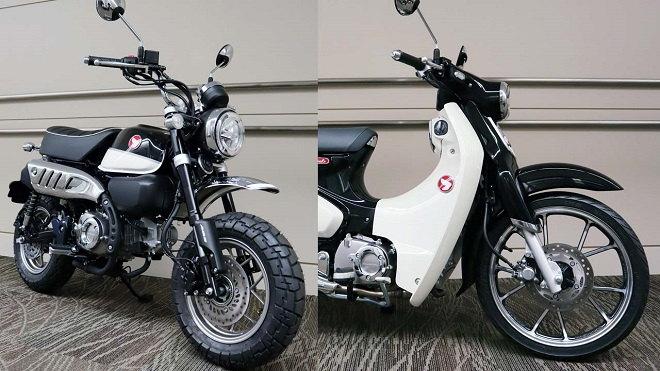 HOT: Honda Super Cub C125 và Monkey 125 ABS thêm tùy chọn màu đen cực chất - 1