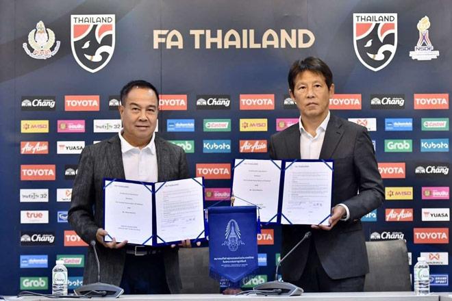Thái Lan gia hạn với HLV Nishino: Mục tiêu cực khủng, lương cao ngất ngưởng - 1