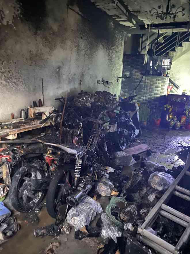 TP HCM: Hai vụ hỏa hoạn ngay sáng mùng 1 Tết - 1