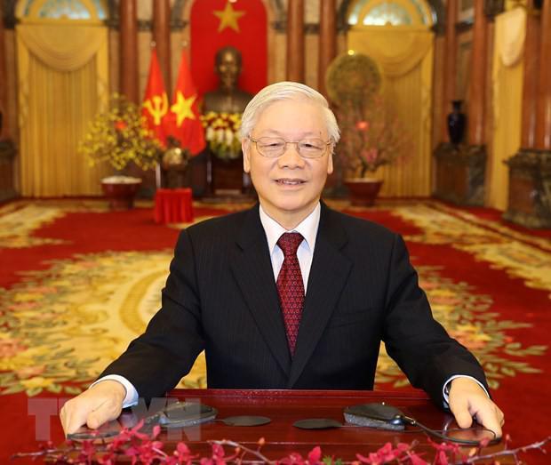 Tổng Bí thư, Chủ tịch nước Nguyễn Phú Trọng chúc Tết Canh Tý 2020 - 1