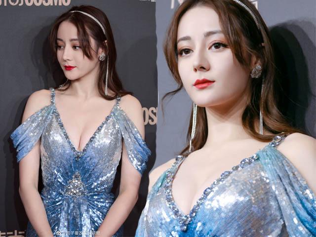 """Thời trang - Địch Lệ Nhiệt Ba vượt mặt Phạm Băng Băng để trở thành """"nữ hoàng thời trang"""""""