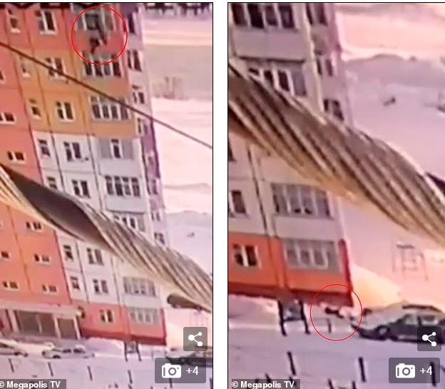 Nga: Rơi tự do từ tầng 9 xuống đất và diễn biến kinh ngạc sau đó - 1