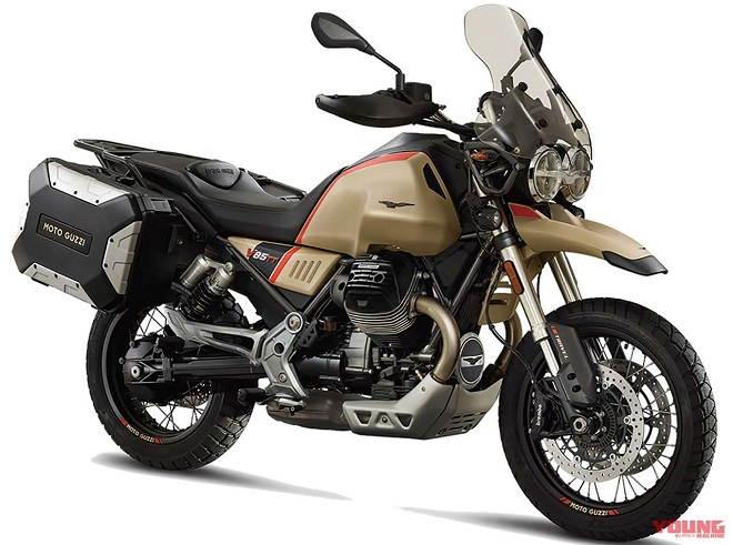 Moto Guzzi tung các biến thể đặc biệt cho các tín đồ mê phượt - 1